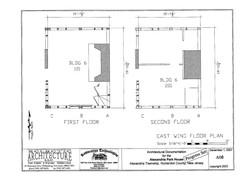 east wing floor plan1st & 2nd floors