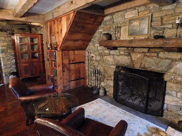 Reclaimed Wood Mantel Cabinet