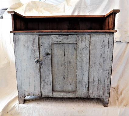 Repurposed Kitchen Cabinet Bar