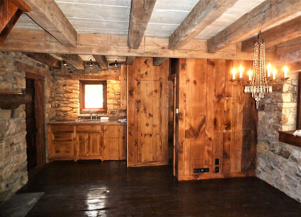 Reclaimed Wood Doors Cabinets Floors Ceiling