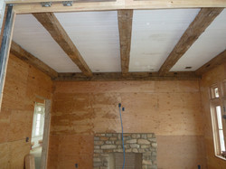 Reclaimed Timber Ceiling