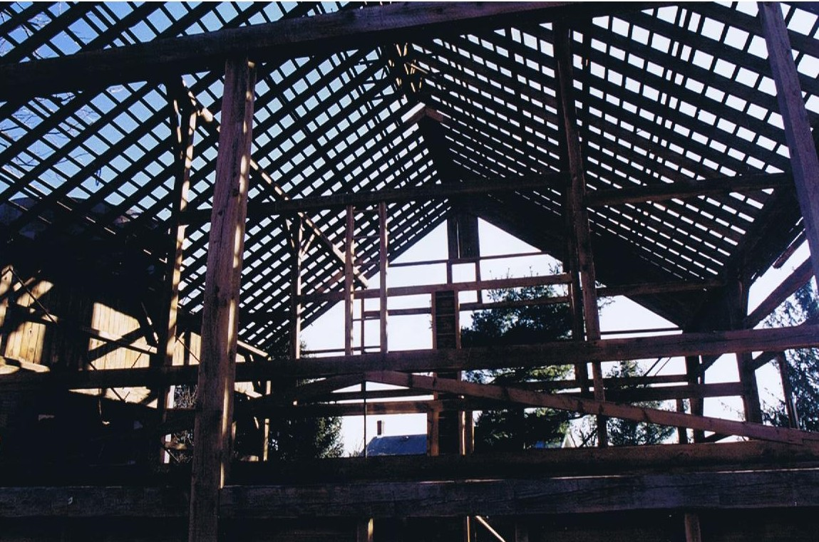 Mt. Pleasant Barn. 36' x 48'