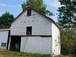 Wagon House Front, Before