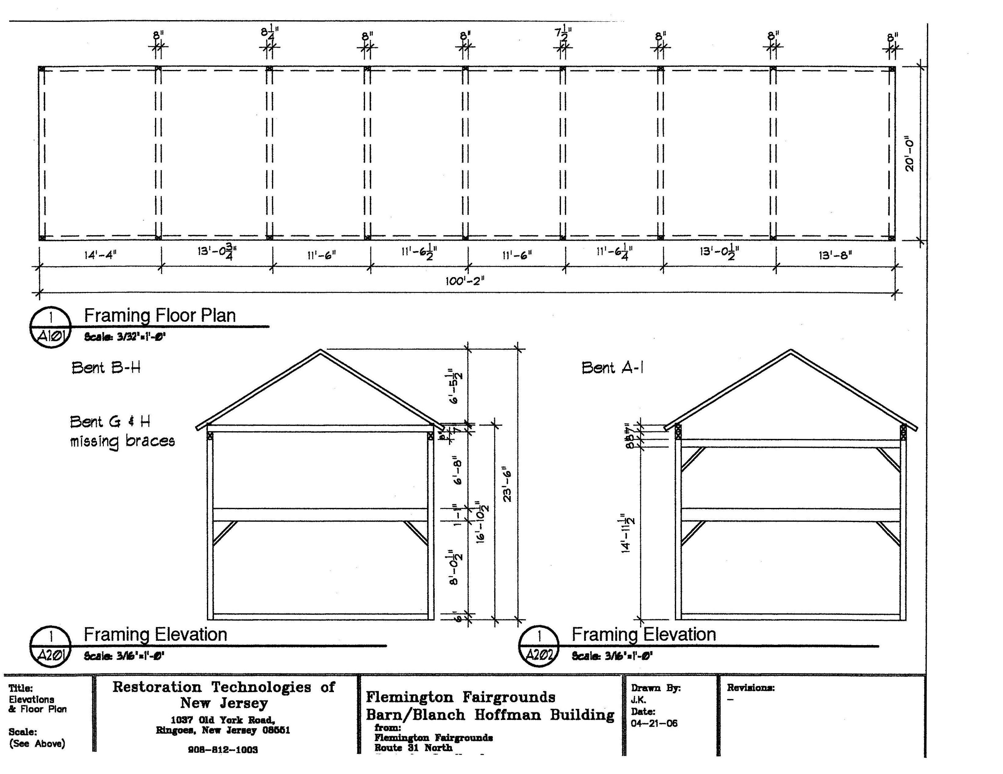 framing + floor plan