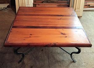 Repurposed Wood Door Coffee Table