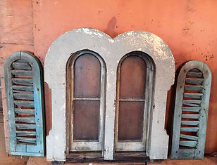 Antique Windows and Shutters