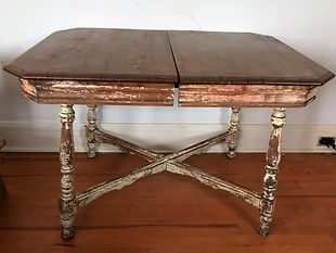 Distressed Wooden Kitchen Table