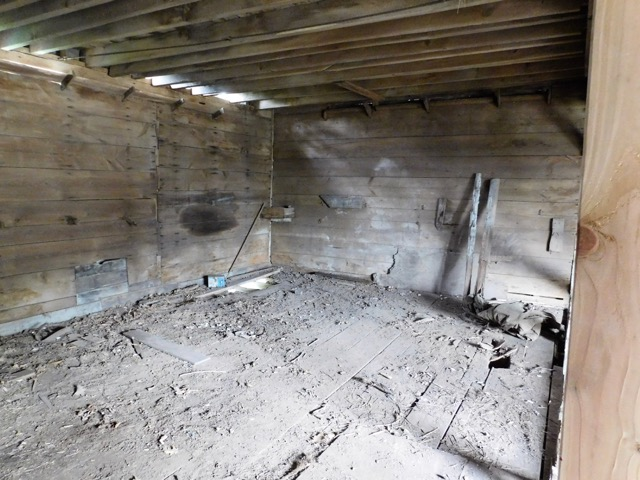 Wagon House Interior, Before