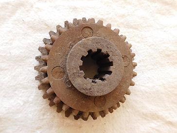 Old Industral Machine Gear