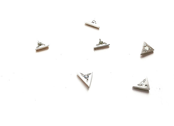 Triangle Star Studs