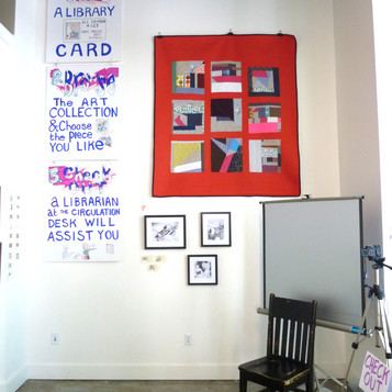 The Art Lending Library Gina Coffman Fly