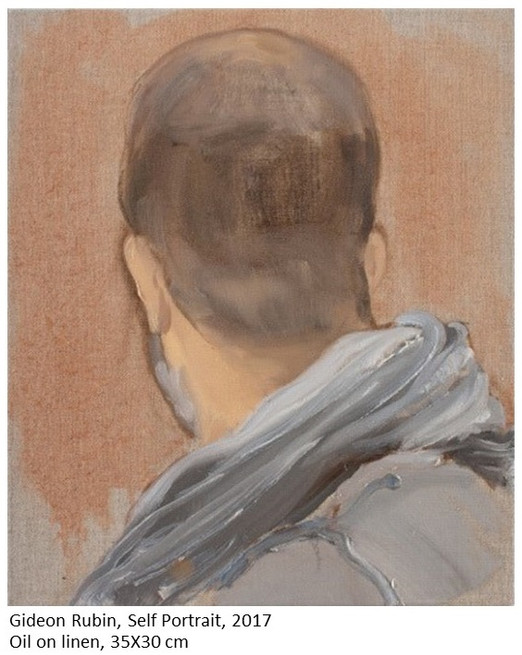 "Gideon Rubin at the ""Ruth Borchard Self-Portrait Prize"", 2017"
