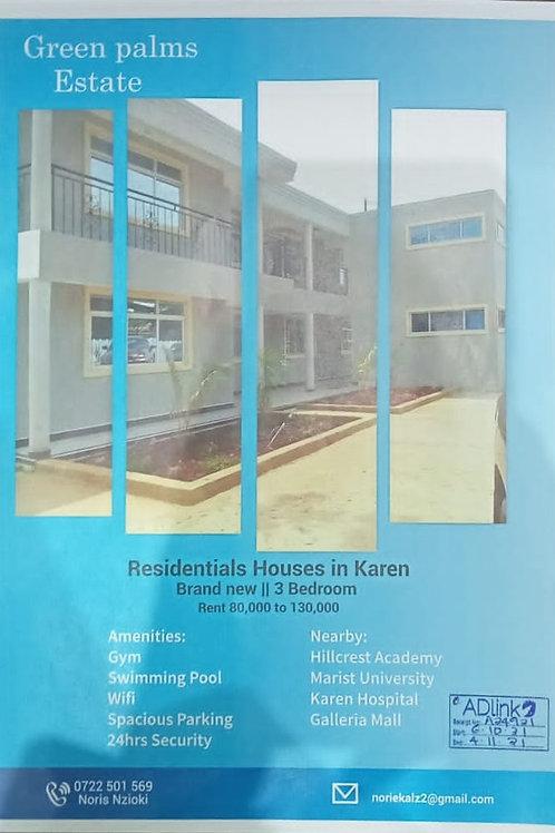 HOUSES IN KAREN
