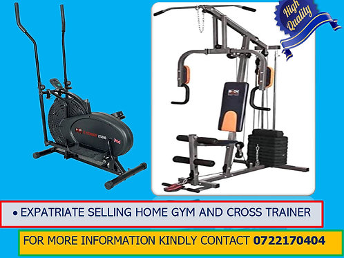 HOME GYM AND CROSS TRAINER ON SALE