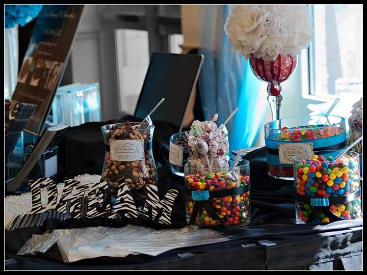 Candy Buffet Bridal Show 2012