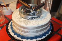 Cigar Cake Birthday Celebration