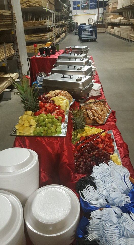 Lowes Employee Breakfast