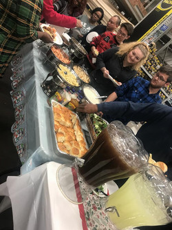 Lowes Employee Holiday Dinner