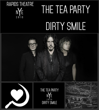 AXS.com Highlights Dirty Smile / The Tea Party NYE 2016 @ The Rapids Theatre