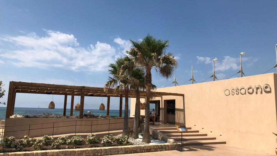 ASSAONA - Gastro Beachclub in Top Lage