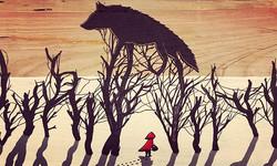 #Rotkäppchen #wolf