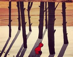 #Rotkäppchen #alleinimwald