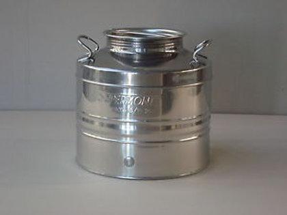 Fusto acciaio inox SUPERMONTE  25/30 LT