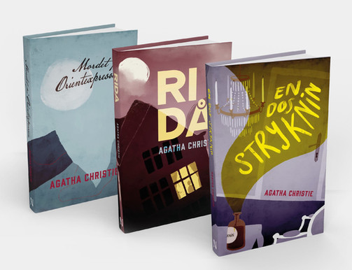 Agatha Christie bokserie