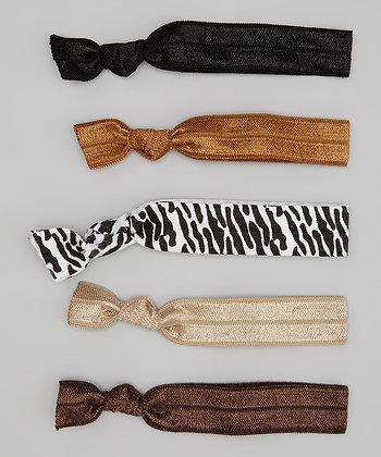 Brown, Black & Zebra 5 pack