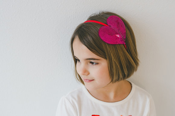 Heart Headband- Wholesale Order 20 pieces