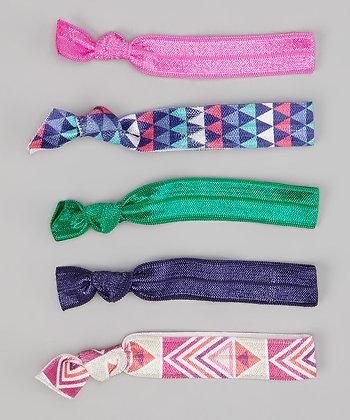 PInk, Purple & Green 5 Pack