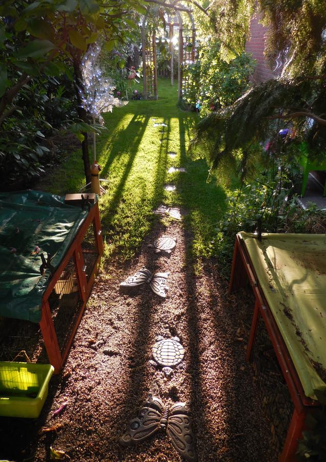 Unser Gartenweg