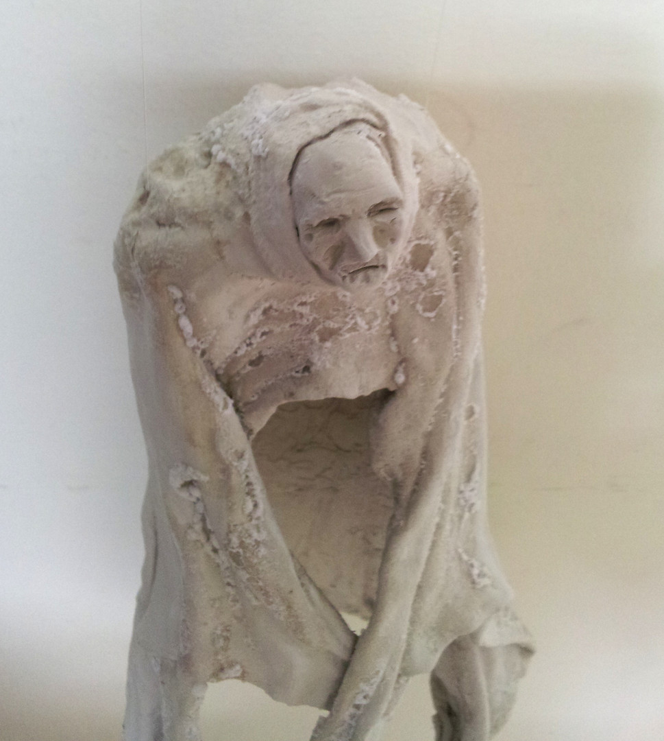 Detail of Hollow Figure