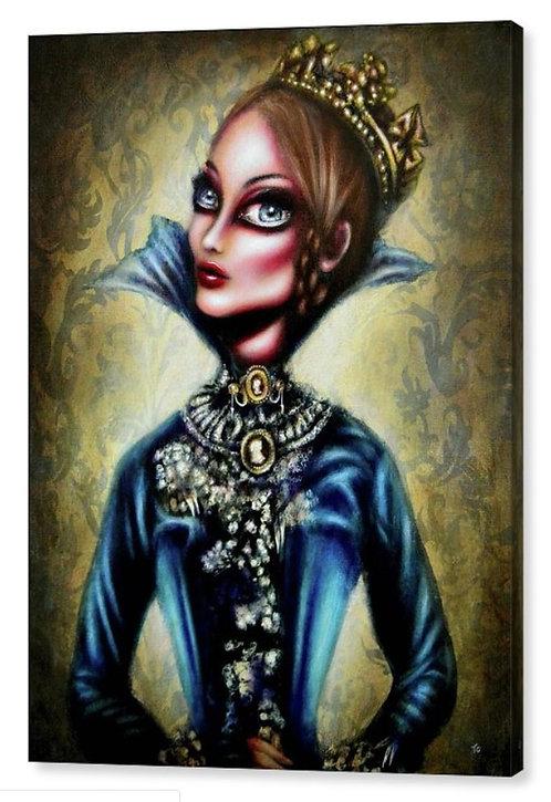 50cm x 70cm Canvas Print of Queen Victoria
