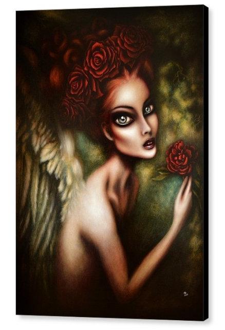50cm x 70cm Canvas Print of Gabriel