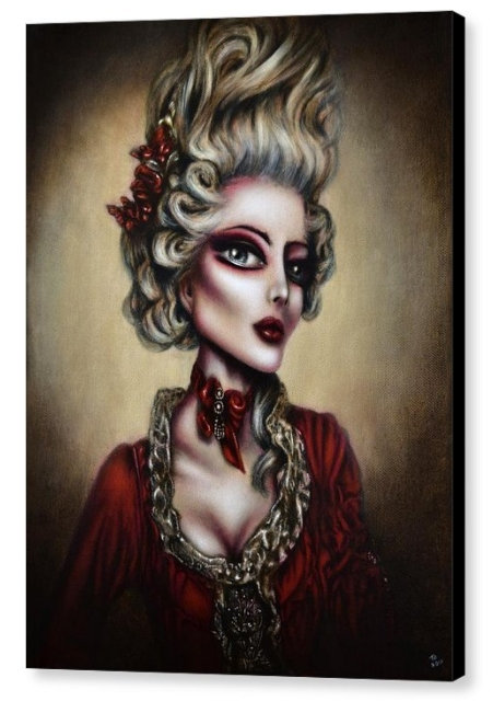 50cm x 70cm Canvas Print of Marie Antoinette