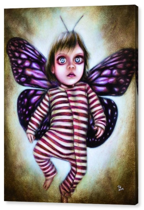 50cm x 70cm Canvas Print of Little Fairy
