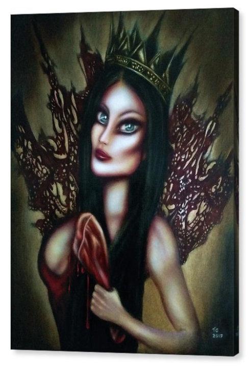 50cm x 70cm Canvas Print of Esther