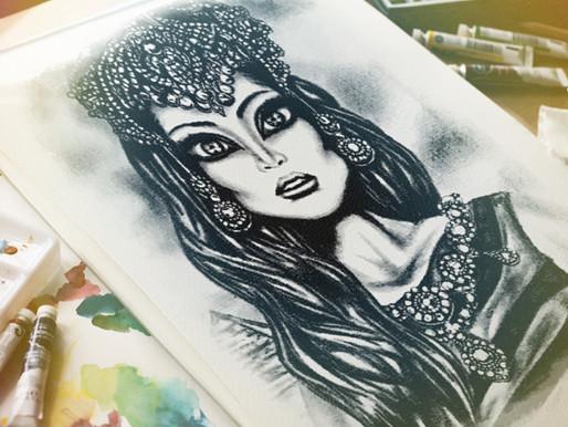 Egyptian Queen by Tiago Azevedo