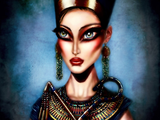 Nefertiti Painting by Tiago Azevedo Pop Surrealist Art 🦂