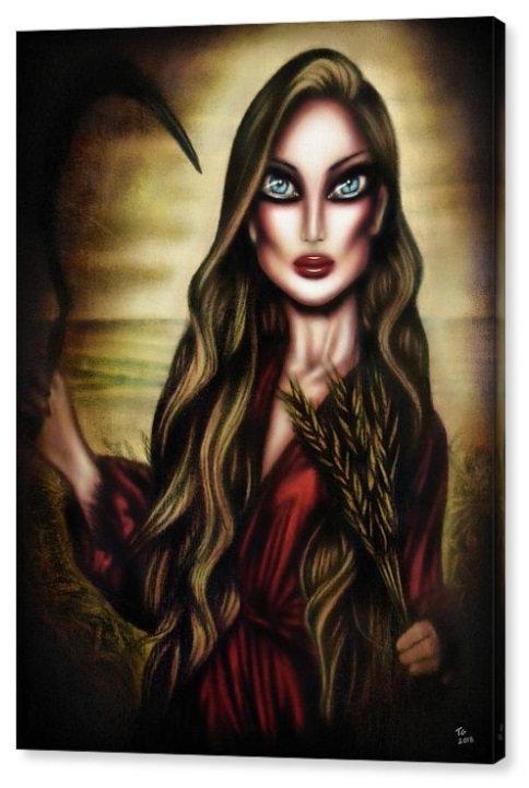 50cm x 70cm Canvas Print of Ruth