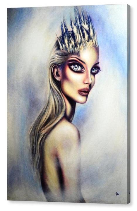 50cm x 70cm Canvas Print The Snow Queen