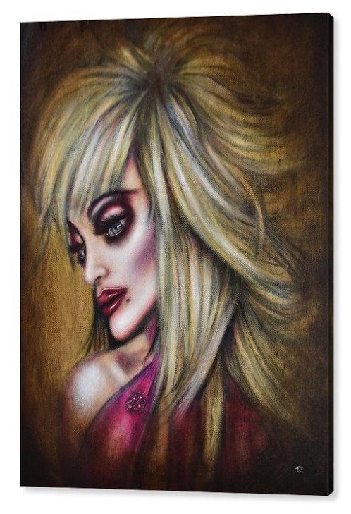 50cm x 70cm Canvas Print of Dolly Parton