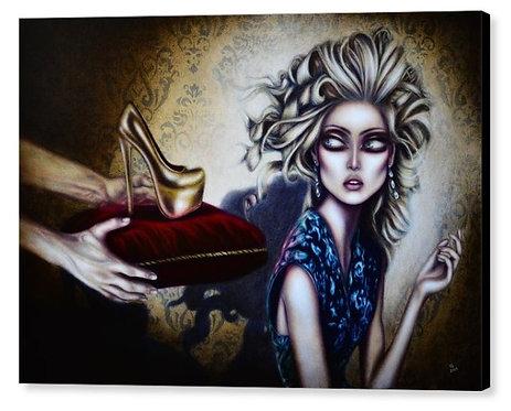 50cm x 70cm Canvas Print of Cinderella