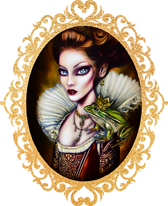 Evil Queen Painting art tiago azevedo lowbrow posurrealist artist
