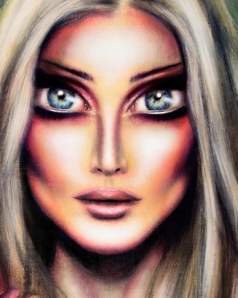 Cinderella art painting tiago azevedo lowbrow pop surealusm artist