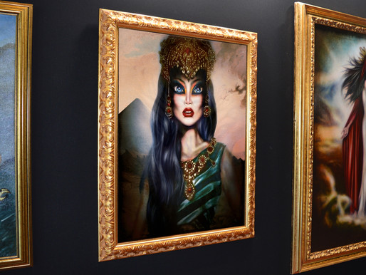 Egyptian Queen exhibited by Tago Azevedo