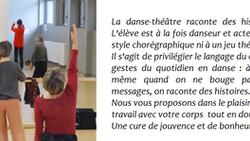 Ateliers danse-théâtre seniors