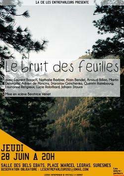 """""""Le bruit des feuilles"""", dernier spectacle de fin d'année"""