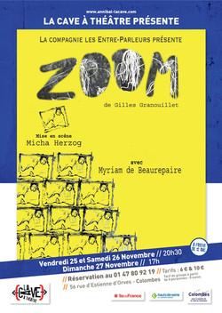 """""""ZOOM"""" à la Cave à Théâtre de Colombes"""